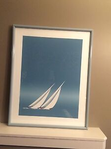 Sailing  Lovers !!Americas Cup signed Print