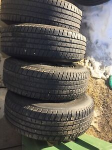 p235/75/17 inch Michelin Truck Tires on Rims / GOOD DEAL