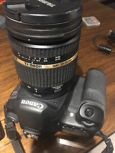 ESLR Canon EOS 50D with Lens and extra batteries