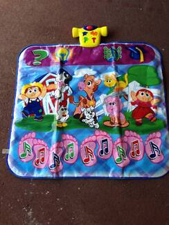 Kids Electronic Floor Piano/Mat - Step On