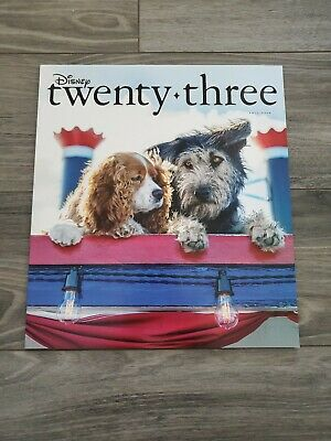 Disney D23 Magazine Fall 2019 Lady and the Tramp Cover