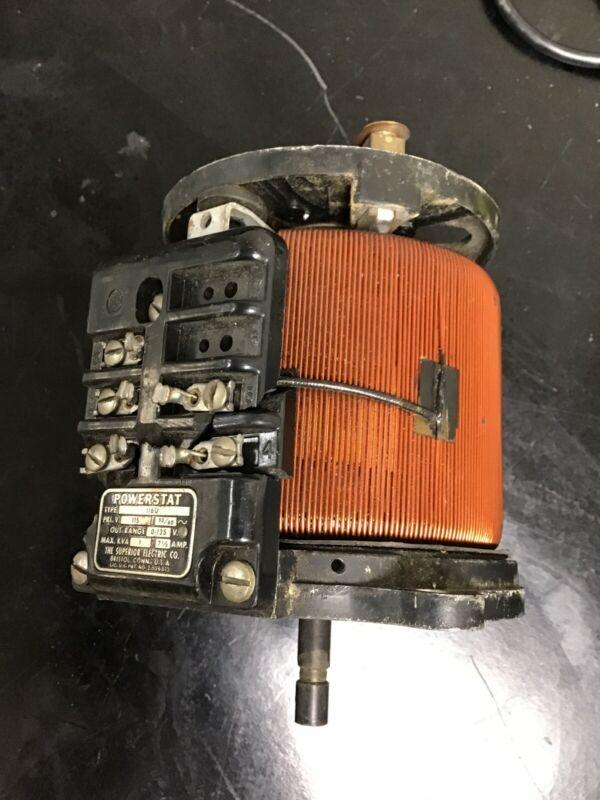 Superior Powerstat Type 116U Variable Transformer