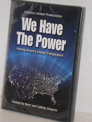 We Have The Power Making America Energy Independent Dvd 2008 New Sealed
