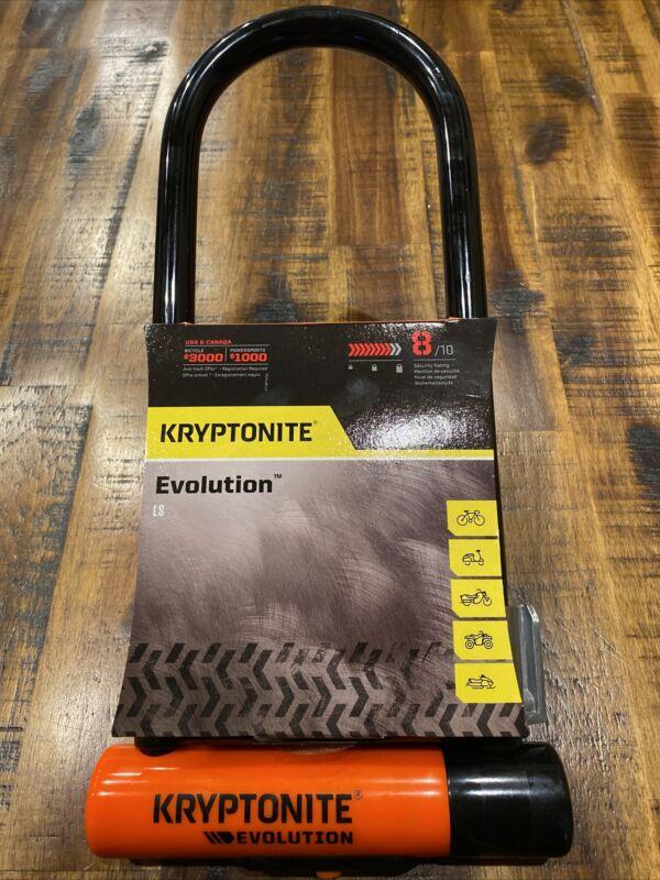 Kryptonite Evolution Multi Vehicle U-Lock LS Lock Comes With FlexFrame U-Bracket