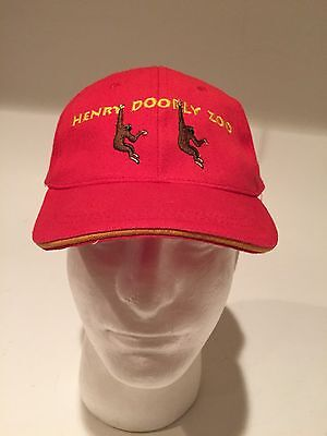 Omaha's Henry Doorly ZOO Baseball Hat, Cap Nebraska 100% Cotton Red