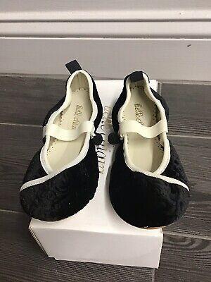 Belle Chiara Velvet Shoes 34 New