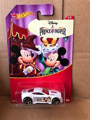 ot Wheels - Disney / Prince & The Pauper -Torque Twister 6/8 (Hot Disney Princes)