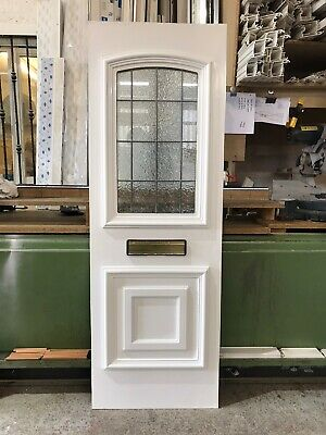 Second Hand Door Panel, WHITE, 580mm Wide By 1700mm Height, 28mm Thick, (P733)