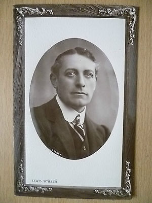 Real Photo Postcard- Theater Actors MR LEWIS WALLER, No. 4005 A