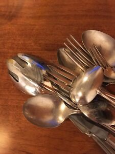Silver Plated Cutlery Bundle 15 pcs