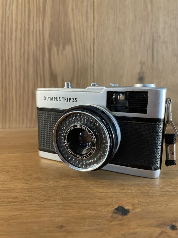 *Exc+5* Olympus Trip 35 Point & Shoot Film Camera 40mm F/2.8 Lens From Japan