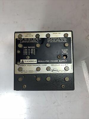 Lambda Lxs-cc-12 Regulated Power Supply Tested