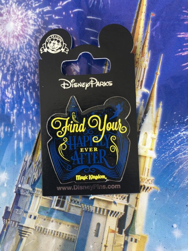 Disney World Find Your Happily Ever After Pin Fireworks