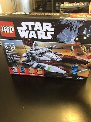 Lego Star Wars 75182 Republic Fighter Tank READ DESCRIPTION