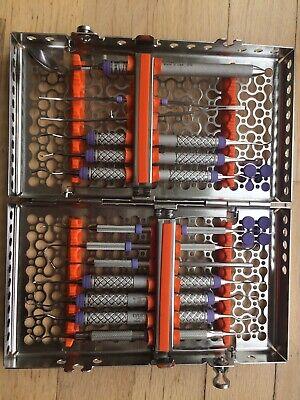 Hu Friedy Cassette With Dental Hygiene Instruments