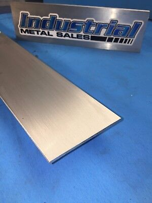 18 X 3 6061 T6511 Aluminum Flat Bar X 12-long--.125 X 3 6061 Mill Stock