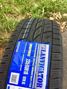 235/60R18 Winter Tires Brand New Set of 4