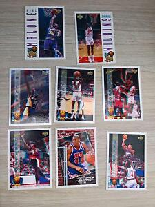8 x Upper Deck 93/94 3D Pro View Basketball Cards Elwood Port Phillip Preview
