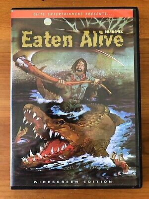 Eaten Alive (DVD, 2000) Tobe Hooper - Widescreen Edition - Very Good Condition