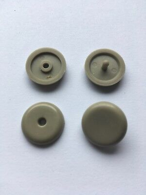 Beige Buckle (Universal Seat Safety Belt Stopper Buckle Button Fastener Beige (2) )