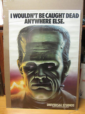 Wouldnt Be Caught Dead Anywhere Else Universal Studios Hollywood 1985 Poster