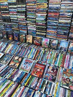 100 Dvd Lot Kids/Family Tv Shows, Cartoons, Disney, Pixar, Nick Jr. PBS & More