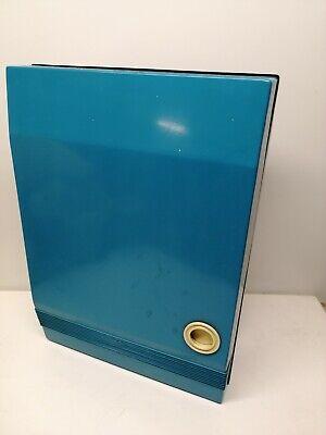 Armadietto Armadio Porta Medicine Medicinali vintage blu 35x45x13