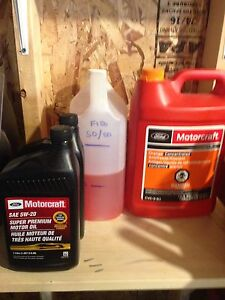 Ford F-150 top up fluids.