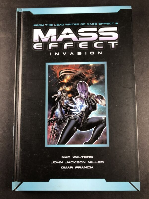 AUTOGRAPHED John Jackson Miller Mass Effect Invasion 3 TPB Comic Hardcover