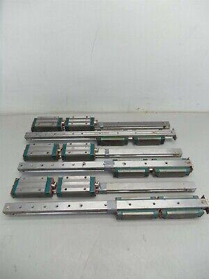 6 Hiwin Lg25 Cnc Linear Rail And 12 Ball Bearingsblocksslides 500mm
