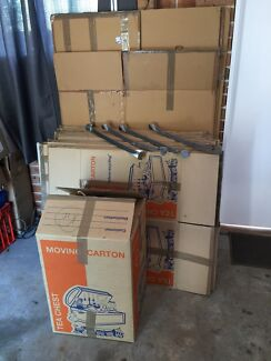 4 Portables, 30 Tea Chest Double Cell Removalist Removal Removal Box's Hornsby Hornsby Area Preview