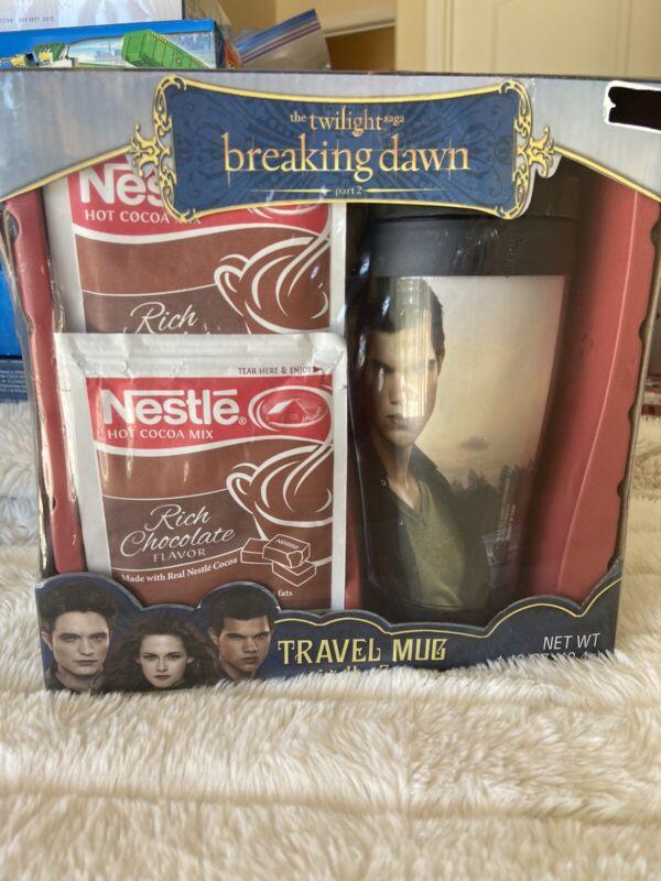 TWILIGHT BREAKING DAWN  Travel  Mug with Hot Cocoa