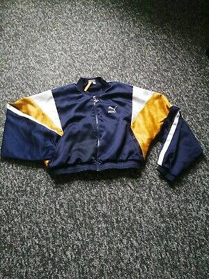 Womens Puma Jacket/ Jumper Size S, RETRO!