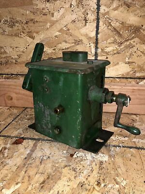 Antique Madison Kipp Blind Feed Single Port Lubricator Hit Miss Steam Engine