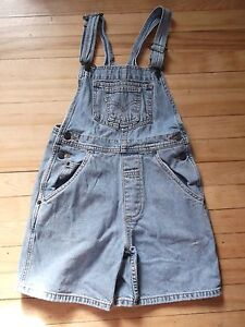 GIRLS LEVI'S SHORTS OVERALLS