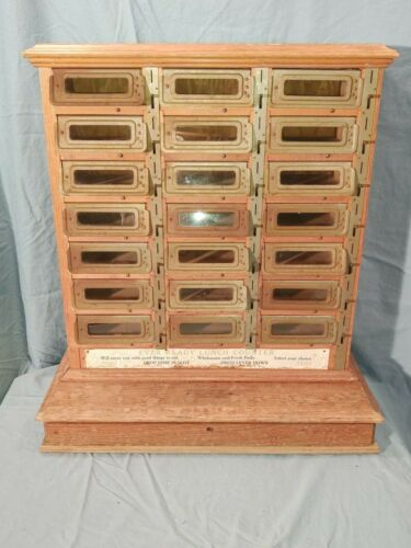 Antique Ever Ready Lunch Counter (or Wall Hanging), 10 Cent Vending Machine RARE