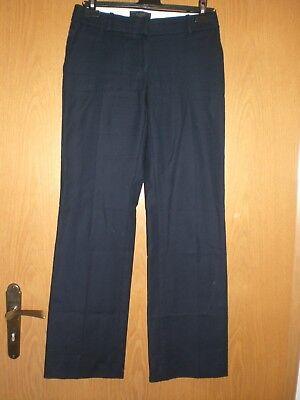 Gebraucht, Damen Stoffhose Business von J.CREW  Gr 2/34-36-38-40 dunkel blau, wie neu gebraucht kaufen  Gummersbach