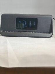 iHome iBN350 Alarm Clock Bluetooth Radio with Lightning iPhone Qi Wireless Charg
