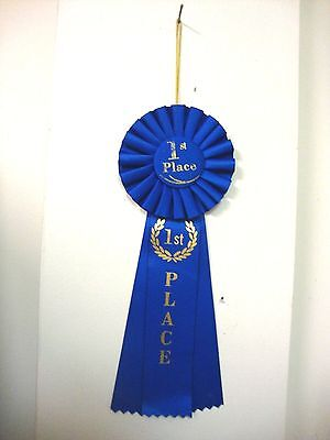 DELUXE BLUE 1ST PLACE RIBBON](1st Place Ribbon)