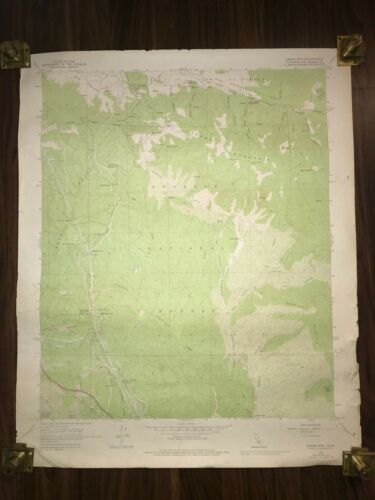 1974 LIEBRE MOUNTAIN LOS ANGELES NATIONAL FOREST CALIFORNIA GEOLOGICAL RARE MAP