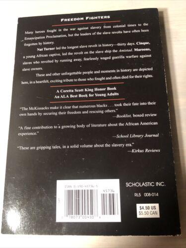 Rebels Against Slavery American Slave Revolts By McKissack McKissack - $0.01