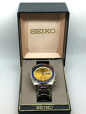 Seiko 6139 6002 Pogue Resist Automatic Chronograph