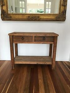 Wooden console/side table Newport Pittwater Area Preview