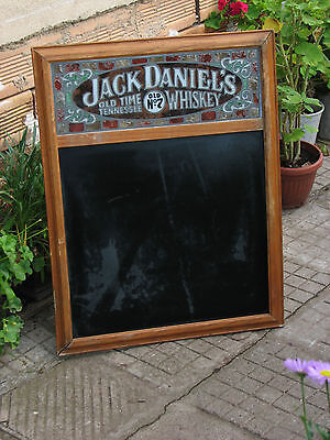 Vintage Jack Daniel's Chalk board sign whiskey used rare