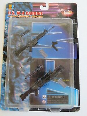 Dragon action figure weapon rifle kit military 1/6 US M4 Carbine M203 Launcher for sale  Huntington Beach