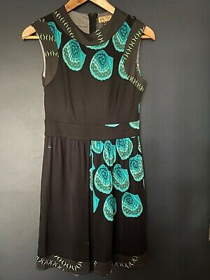 Issa dress 100% silk pre takeover size UK 12 empire line