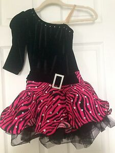 Dance costume girls size 10