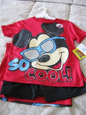 Childrens Clothing  DISNEY Jr MICKEY MOUSE 3 Piece Shorts Set NEW w/Tags Size 5