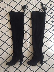 Above knee slouchy boots - sz 7