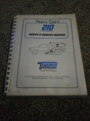 Tymco Model 210 Parts Service Manual